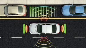 Blind Spot Avoidance Radar